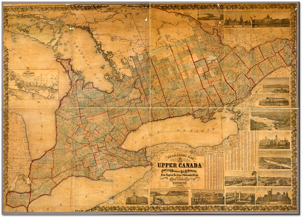 ımmigration And Settlement Canadian Geographic Historical List Of Cities