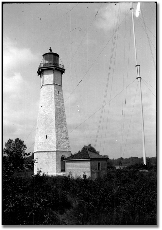 Photographie : Lighthouse at Gibraltar Point, Toronto Island, [vers 1908]
