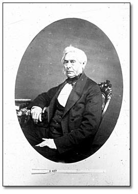 Photographie : Portrait de William Hamilton Merritt, 1860