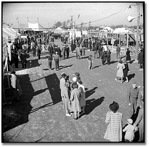 Photographie : Scene at the International Ploughing Match, 1941