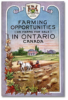 Values of farm property in Ontario, 1923