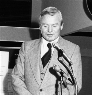 Photograph of Premier Bill Davis taken in 1979