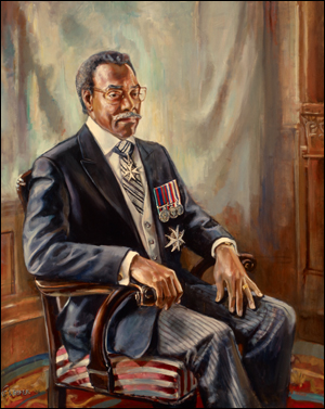 Painting of the Hon. Lincoln M. Alexander, PC, CC, KStJ, O Ont,