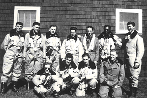 Photograph of a group of air force personnel