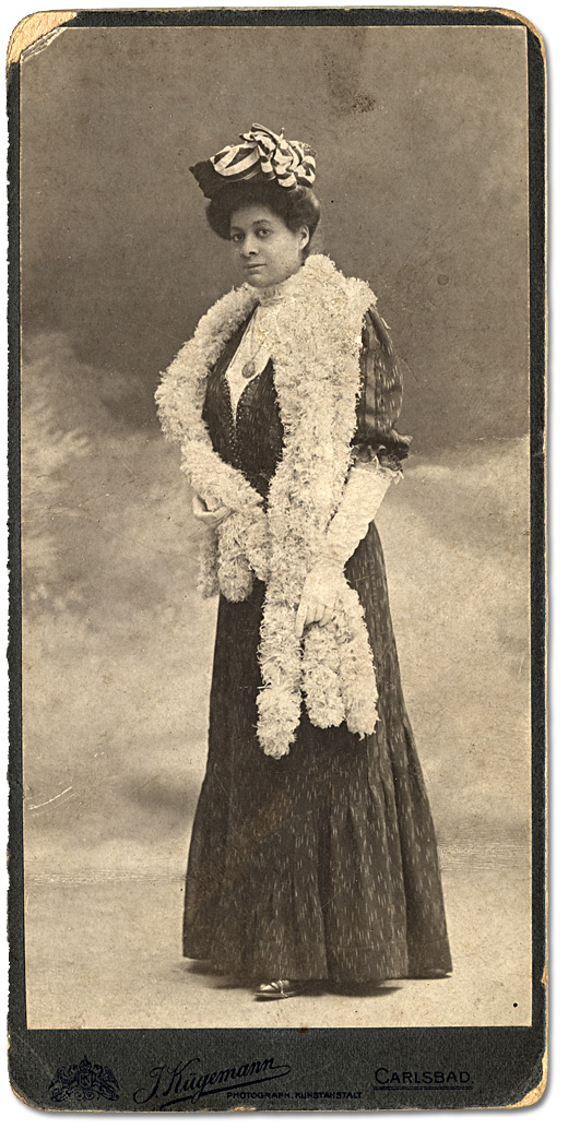 Photographie : Docteur Mary Waring, [vers 1890]