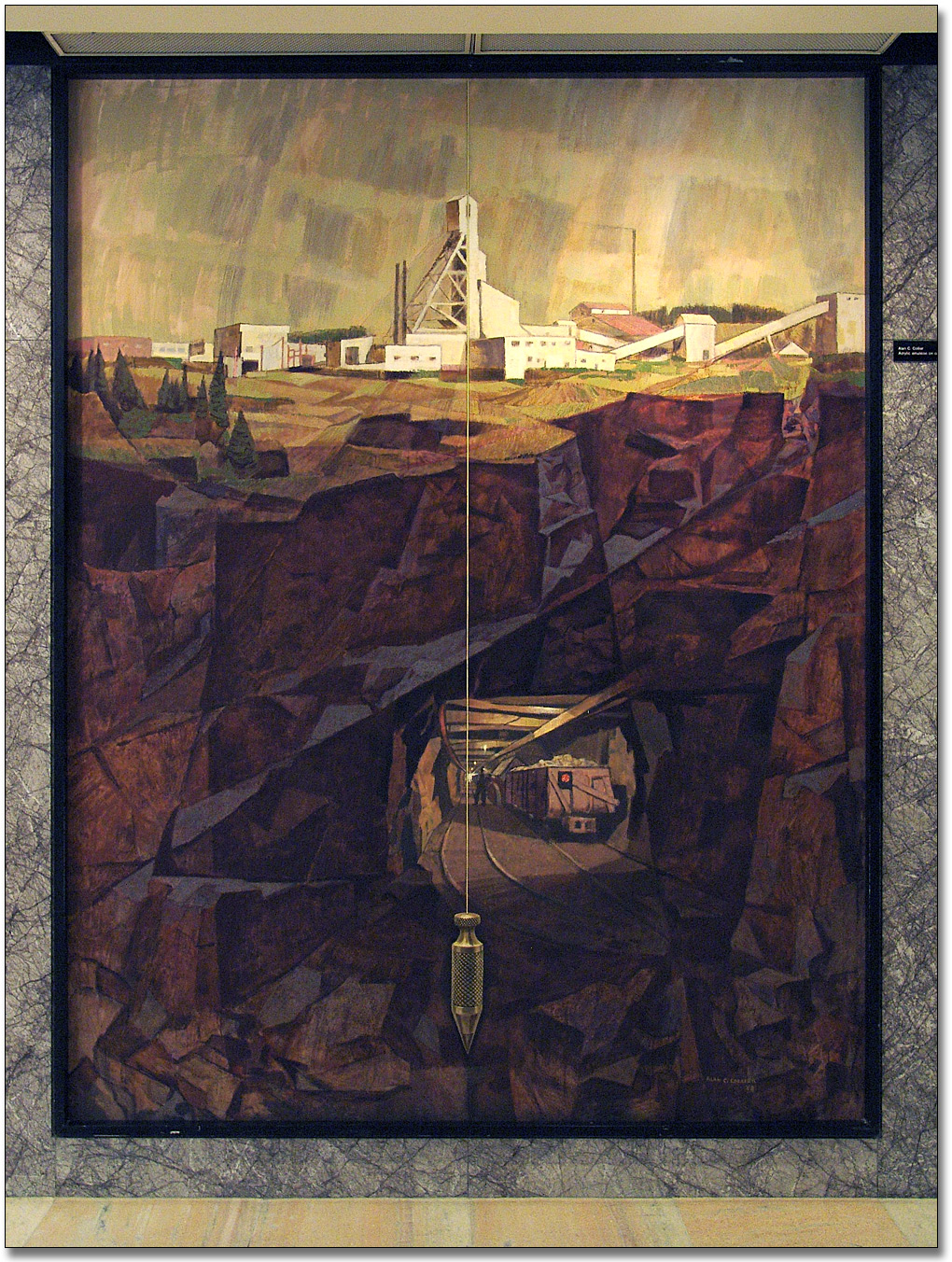 Photographie : Mining in Ontario [Les mines en Ontario], 1968 - Alan Caswell Collier