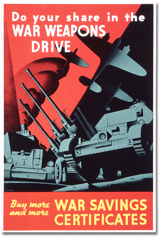 Affiche : Do Your Share in the War Weapons Drive