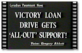 Victory Loan Drive Gets 'All-Out' Support! - extract vidéo