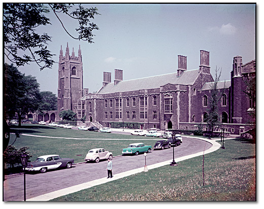 Photographie : Hart House, Université de Toronto, 1953