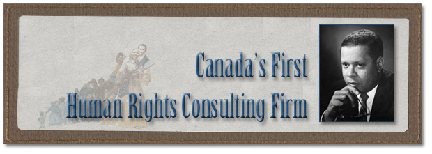 Canada's First Human Rights Consulting Firm - Page Banner