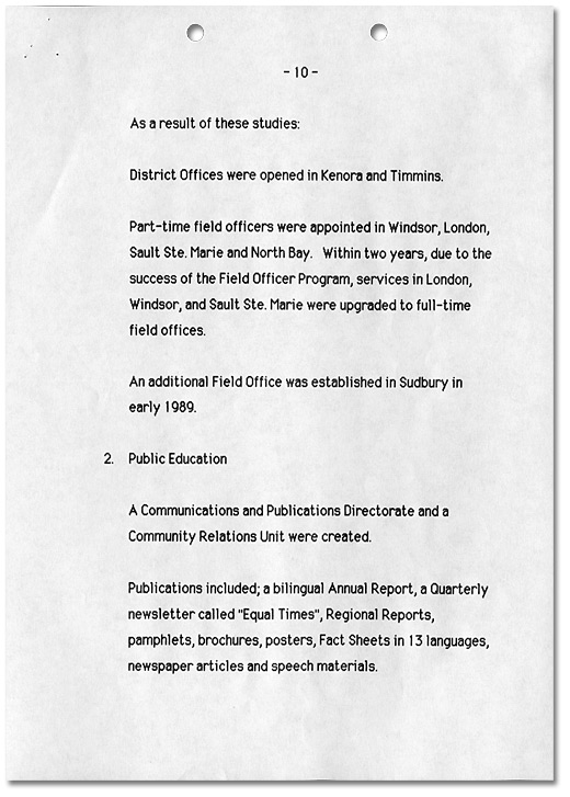Ombudsman Initiatives 1984-1989, Page 10