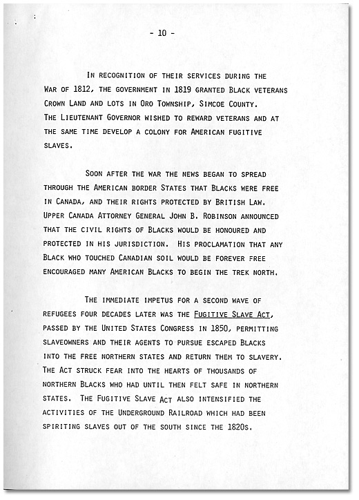 Remarks by Dr. Daniel G. Hill, May 21, 1985 - Page 10