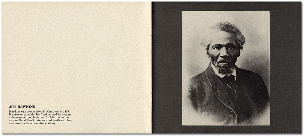 """a brief pictorial history of Blacks in Nineteenth Century Ontario"", by Daniel G. Hill, published by the Ontario Human Rights Commission"