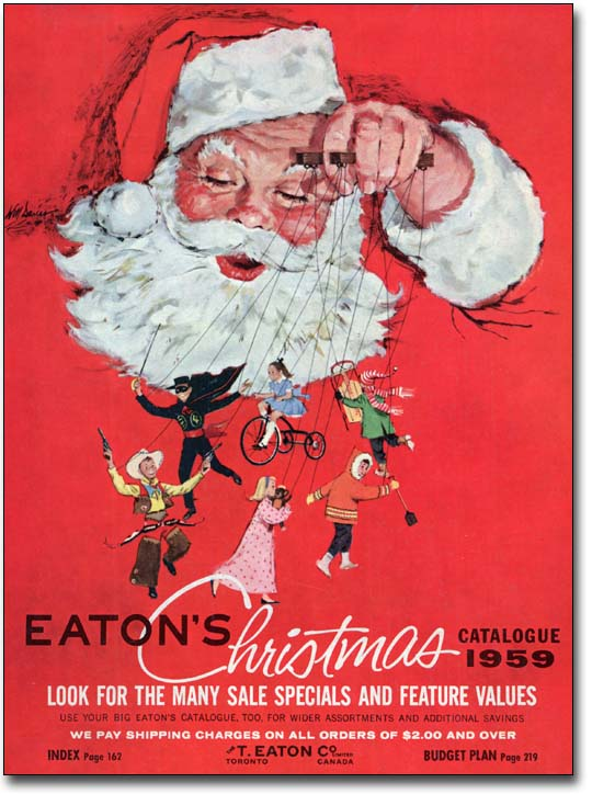 Christmas Catalogs.The Archives Of Ontario Remembers An Eaton S Christmas