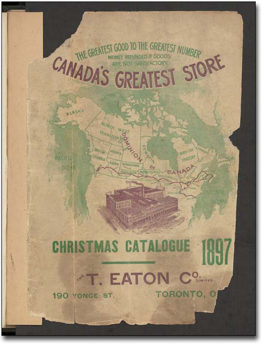 Le catalogue de Noèl Eaton, 1897