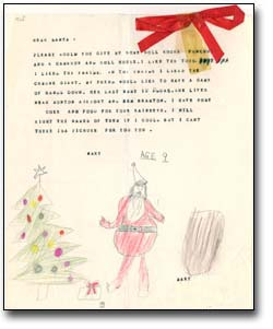 The archives of ontario remembers an eatons christmas letters to santa claus 195 spiritdancerdesigns Choice Image