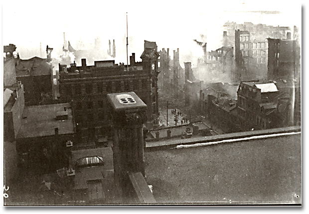 Great Toronto, Canada fire of 1904
