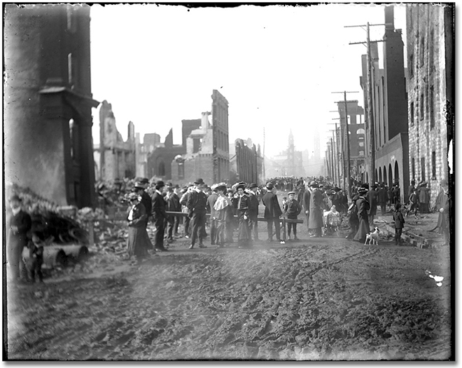 Photographie : Aftermath of the Toronto Fire, [1904] (3)