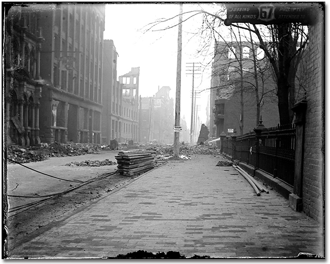 Photographie : Aftermath of the Toronto Fire, [1904] (4)