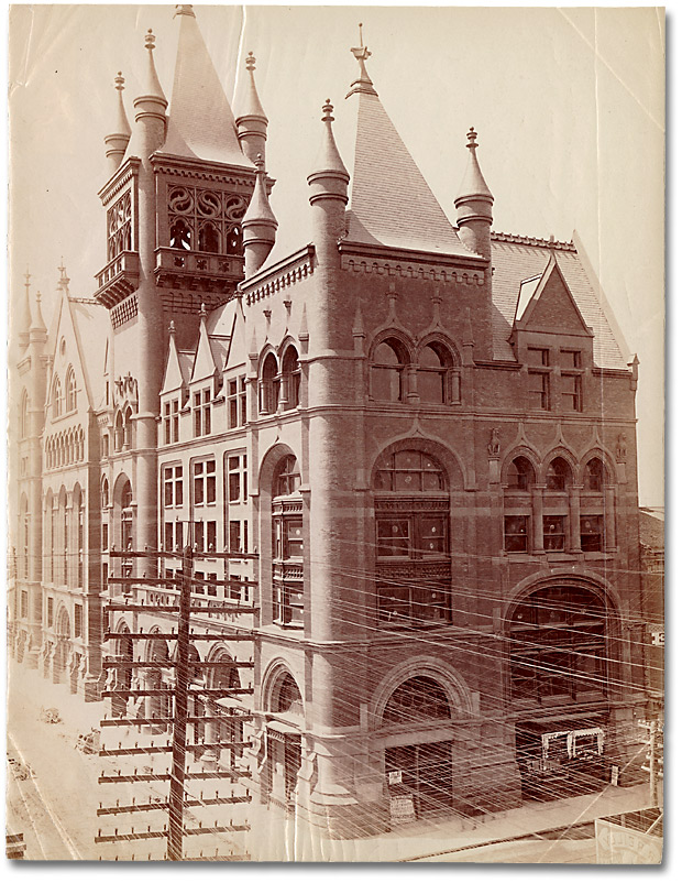 Photographie : Confederation Life Building (Yonge and Richmond Sts.), Toronto, [vers 1890]