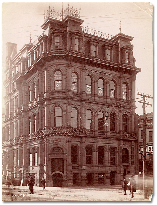 Photographie : Dominion Bank Building, S.W. Corner King and Yonge, Toronto, [vers 1890]