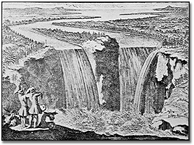 Illustration : Chutes Niagara