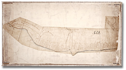 Smith, T. Plan de canton, Sandwich West, 1794