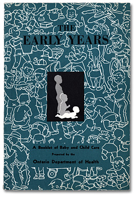 The Early Years. Dépliant, page couverture