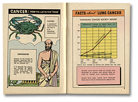 Smoking and Cancer, pages 8 and 9, 1963