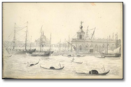 View From the Hôtel d'Europe at Venice, 1819
