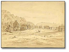 At Point Levis, indian village near Quebec, [vers 1864]