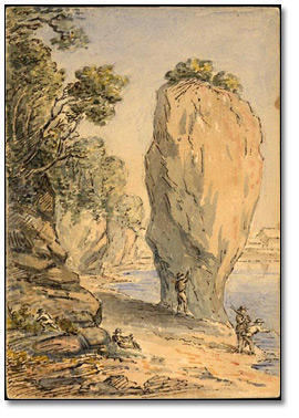 [Flower Pot Rock] Dalhousie, Nouveau-Brunswick, 1862