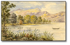 Derwentwater [Lake District, Cumbria, England], [vers 1861]