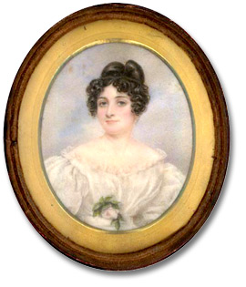 "[""my sister-in-law [Margaret Hornby] before she was married""], 1831"