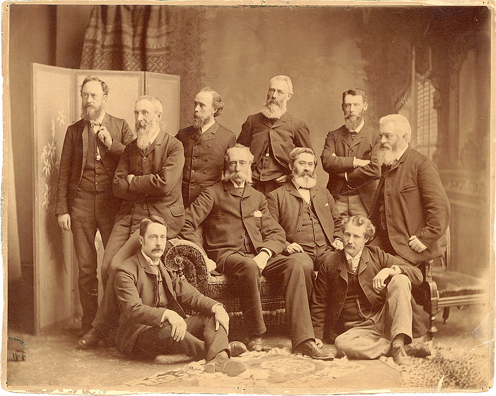 Photographie : Membres de l'Ontario Society of Artists , 1889