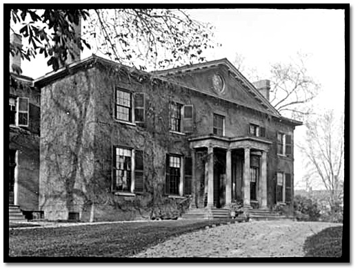 Photographie : The Grange, Toronto,  [vers 1908]
