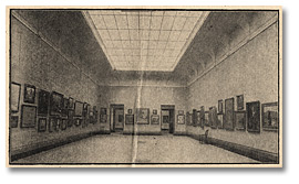 Interior Gallery of the Art Museum of Toronto opened April 4, 1918
