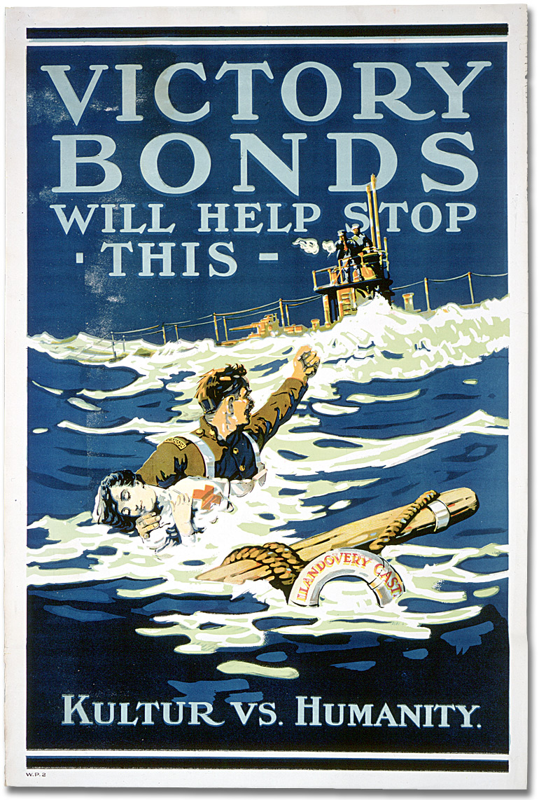 Canadian Posters from the First World War - Victory Bonds