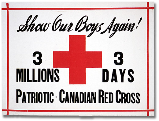 Affiche de guerre  - Le fonds patriotique canadien : Show Our Boys Again! [Canada], [entre 1914 et 1918]