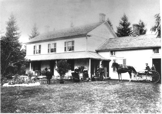 Photo: Walnut farm, home of Judah Lundy and his family