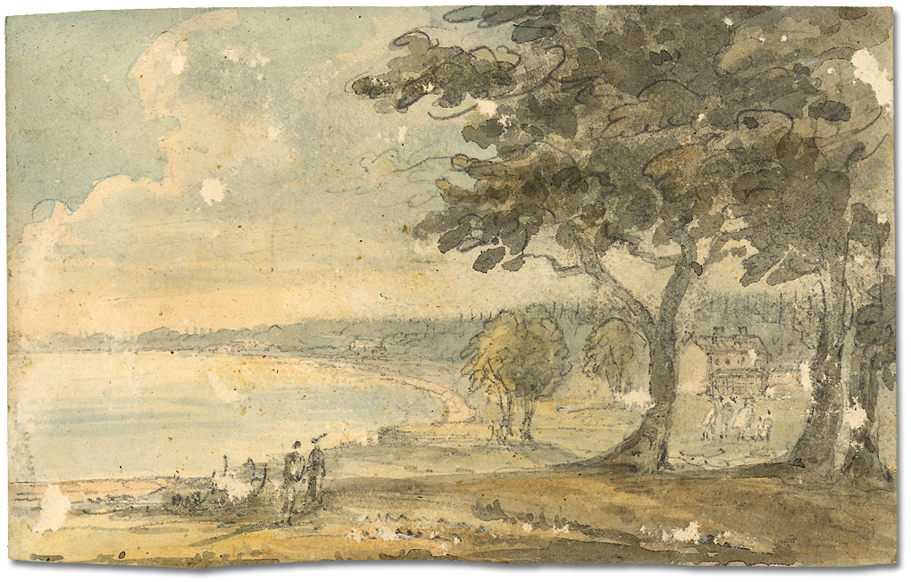 Dessin : Head of the Lake [Ontario], 11 juin 1796