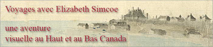 Travels with Elizabeth Simcoe: A Visual Journey Through Upper and Lower Canada - Page Banner