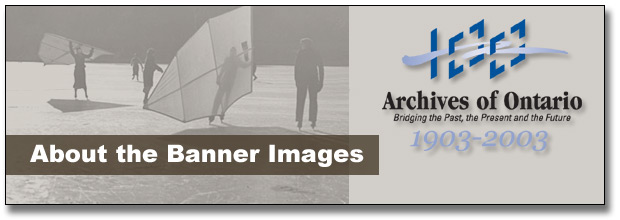 The Archives of Ontario Remembers Ontario's Sporting Past: About the Images - Page Banner