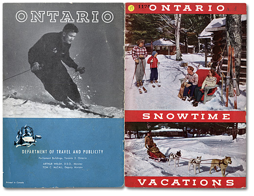 Ontario Snowtime Vacations, [vers 1948]