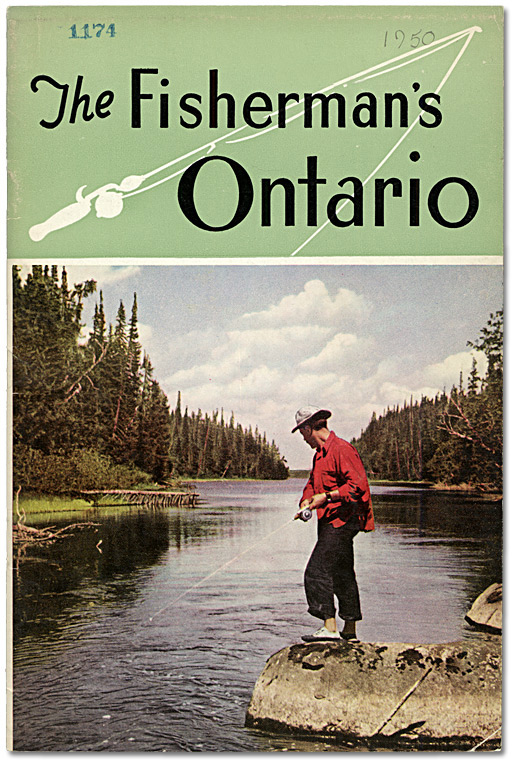 Couverture : The Fisherman's Ontario, 1950
