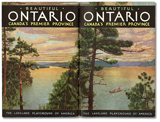 Beautiful Ontario Canada's Premier Province: The Lakeland Playground of America