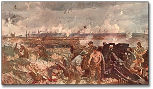 The Battle of Vimy Ridge, 1917 after Richard Jack, A.R.A.