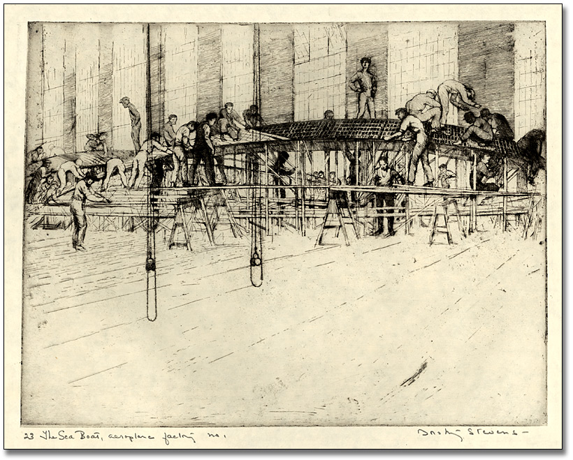 The Sea Boat, Aeroplane Factory no.1, 1919