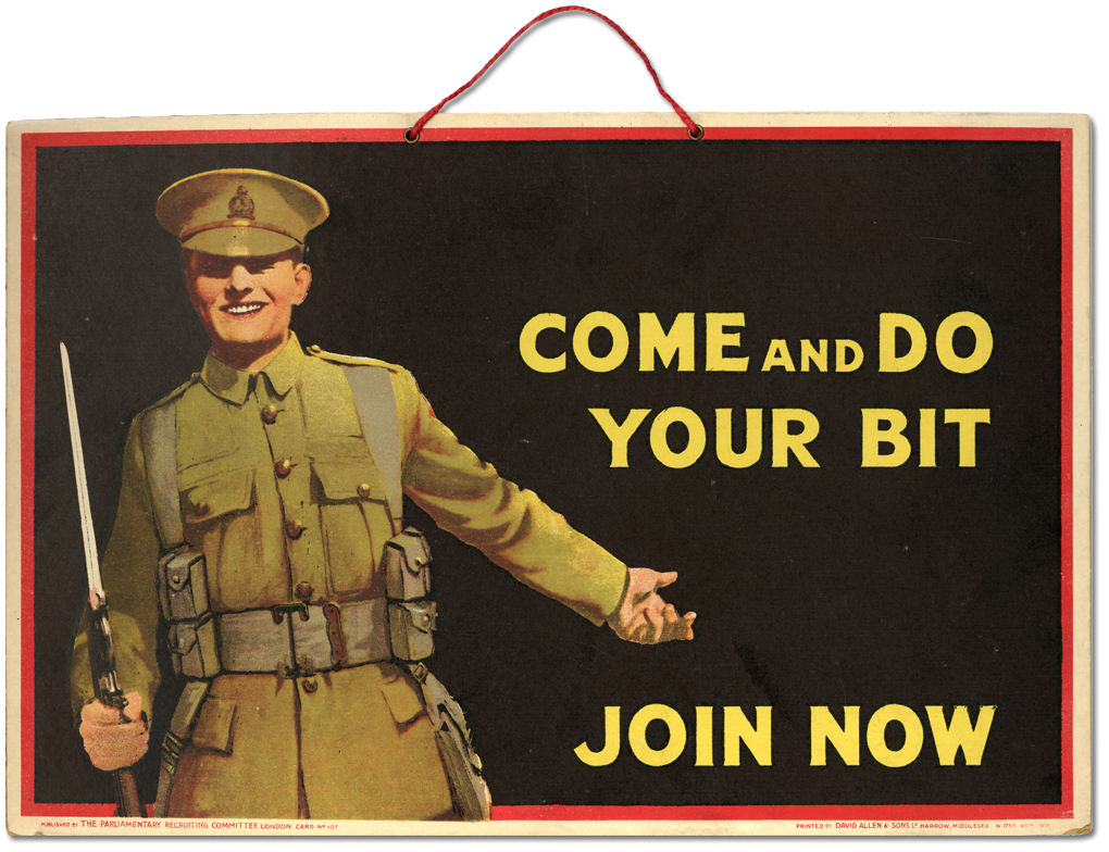 Come and do your bit. Join now, [entre 1914 et 1918]