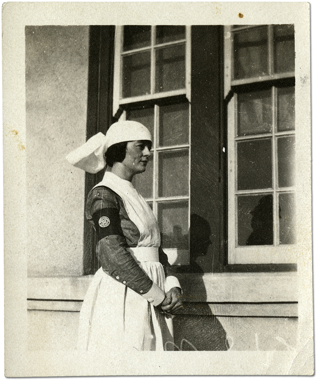 Unidentified military nurse, [ca. 1914-1918]